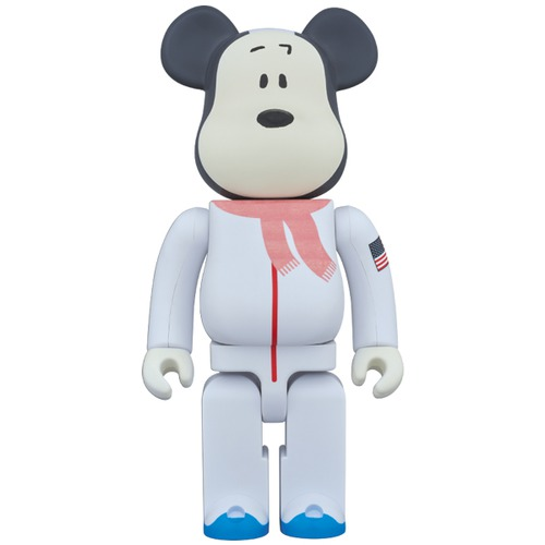 BE@RBRICK ASTRONAUTS SNOOPY 1000%