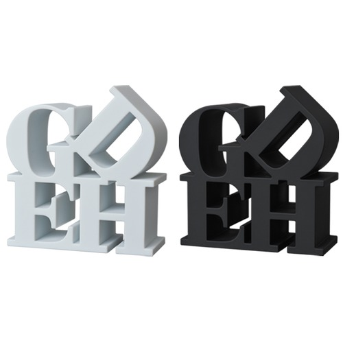 GDEH PAPER WEIGHT WHITE / BLACK
