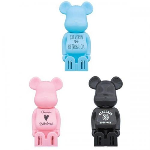Cleverin(R) BE@RBRICK(3色セット)
