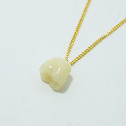 Tooth series / necklace // Aquvii