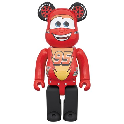 BE@RBRICK LIGHTNING McQUEEN 400%《2018年5月発売・発送予定》