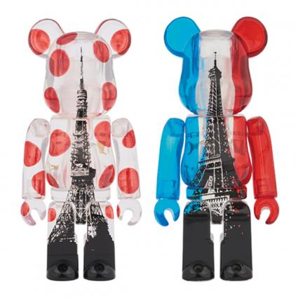TOKYO TOWER BE@RBRICK + EIFFEL TOWER BE@RBRICK TWIN TOWER PACK