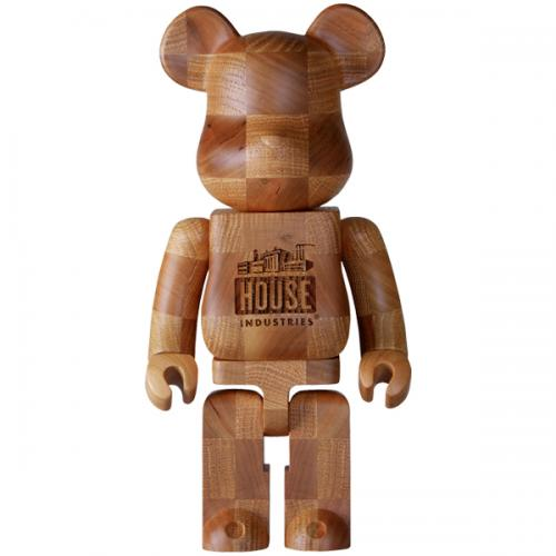 "BE@RBRICK KARIMOKU ""HOUSE INDUSTRIES CHESS"" 400%"