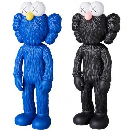 KAWS BFF OPEN EDITION BLUE/BLACK