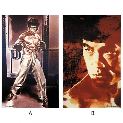 YOSHI SUGAHARA CANVAS ART THEATER act.1 「BRUCE LEE」 「The Jeet Kune Do Man」 Remaster 2015(ジークンドーマン)、 「His Real Face」 Remaster 2015(リアルフェイス)【2016年3月下旬発送予定】