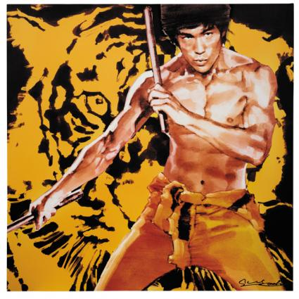 YOSHI SUGAHARA CANVAS ART THEATER act.1 「BRUCE LEE」 「The Yellow Faced Tiger」 Remaster 2015 (黄面虎)【2016年3月下旬発送予定】