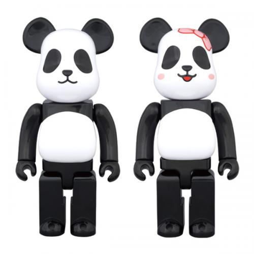 MILK X BE@RBRICK PANDA 400% BOY/GIRL