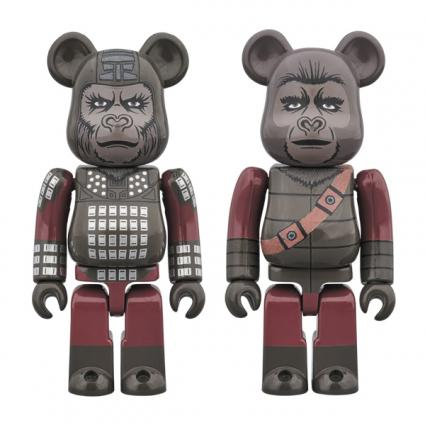 BE@RBRICK GENERAL URSUS & SOLDIER APE 2PACK《2019年6月発売予定》