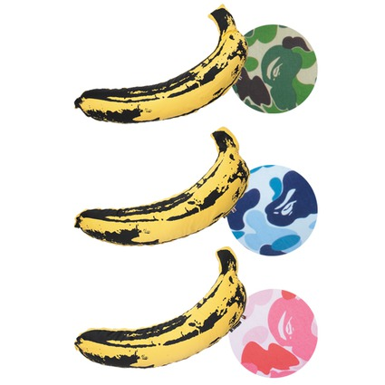 BAPE(R) × MEDICOM TOY LIFE Entertainment × Andy Warhol ABC BANANA (S)