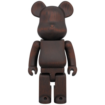 BE@RBRICK カリモク ROSEWOOD PAINT 400%【2015年9月下旬発送予定】
