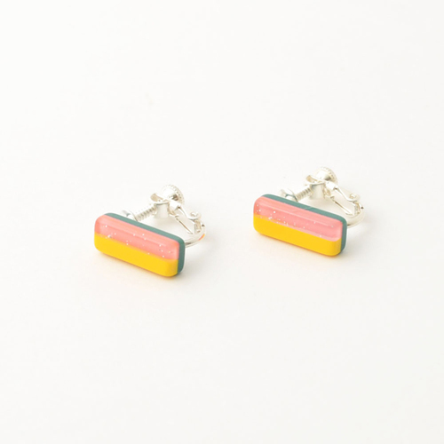 Re:Acryl earring(square)