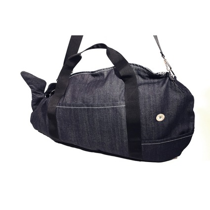 KUJILA BAG L size DENIM // WhoWhat