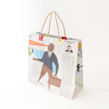 Newspaper bag(big)/5枚セット