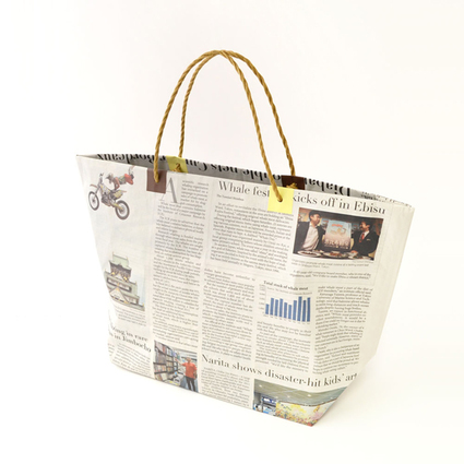 Newspaper bag(toto)/5枚セット