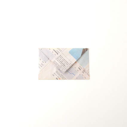 Newspaper letter set(card case)/6枚セット