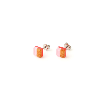 Re:Acryl pierce(square)-small-