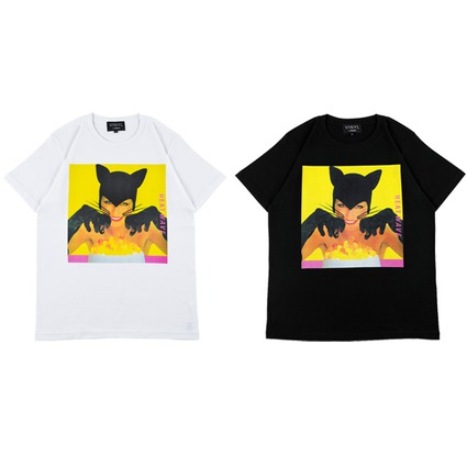 "VINYL ""BLACK CATS"" TEE HEAT WAVE《2017年12月発売予定》"