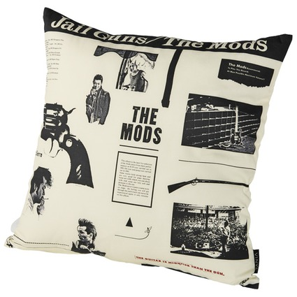 "VINYL ""THE MODS"" CUSHION JAIL GUNS《2017年12月発売予定》"